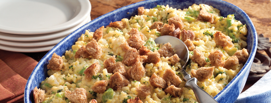 Minute - Broccoli Rice Casserole - We Can Help-4876