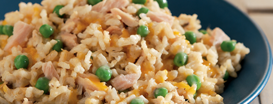 Minute Cheesy Tuna Dinner We Can Help