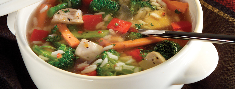 Minute® - Chunky Chicken Vegetable Soup - We can help.®
