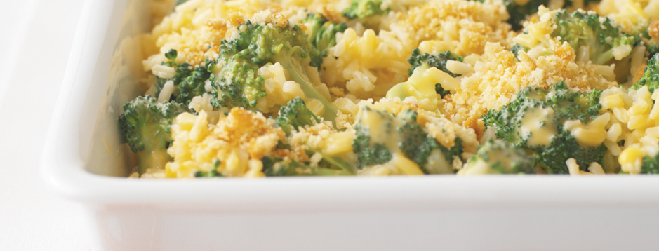 Make Ahead Broccoli Cheese And Rice