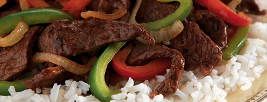 Minute® - Stir Fry Pepper Steak - We can help.®