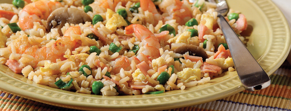 Minute shrimp fried rice we can help makes 4 about 1 cup each servings ccuart Choice Image