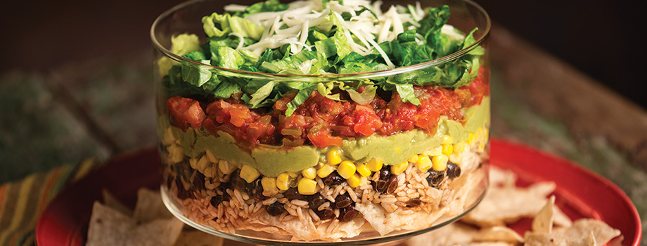 Minute® - Seven Layer Taco Salad - We can help.®