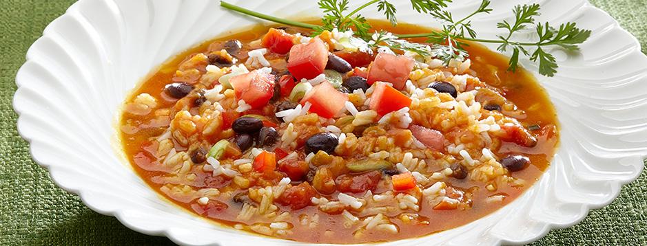 Pumpkin And Rice Soup Recipe — Dishmaps