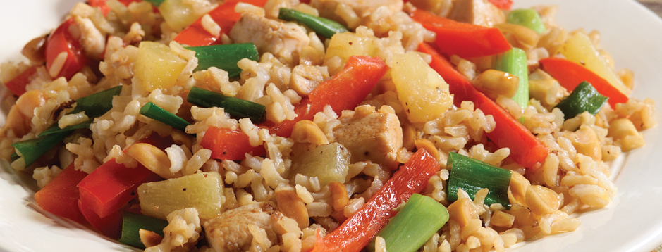 Minute thai pineapple peanut fried rice we can help makes 4 servings ccuart Choice Image