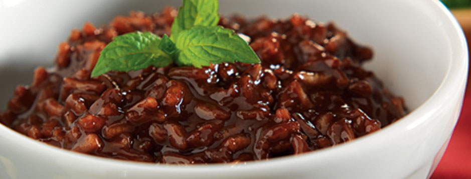 Minute® - Warm Chocolate Risotto - We can help.®