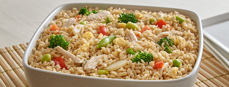 Minute easy chicken fried rice we can help easy chicken fried rice ccuart Choice Image
